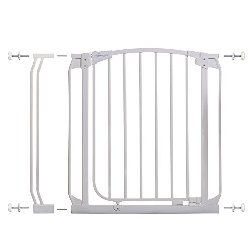 Dreambaby Chelsea Auto Close Safety Gate (White, 28-35.5 inches)