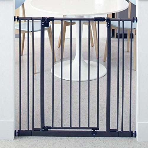 "Toddleroo by North States 38.5"" Wide Extra Tall Easy Close Baby Gate: Sturdy Safety gate with one Hand Operation. Pressure Mount. Fits 28-38.5"" Wide. (36' Tall, Bronze)"